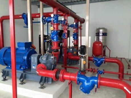 Máy bơm nước công suất lớn - hệ thống bơm PCCC
