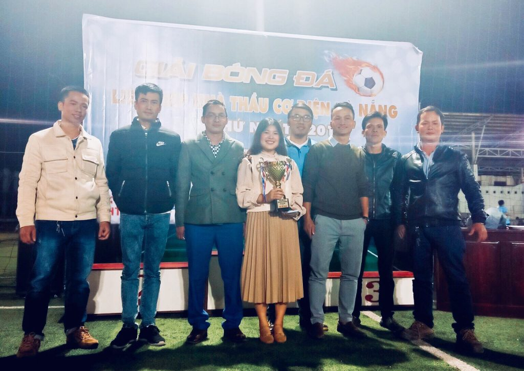 BTC Giải bóng đá liên hiệp các nhà thầu cơ điện Đà Nẵng lần thứ nhất - 2019