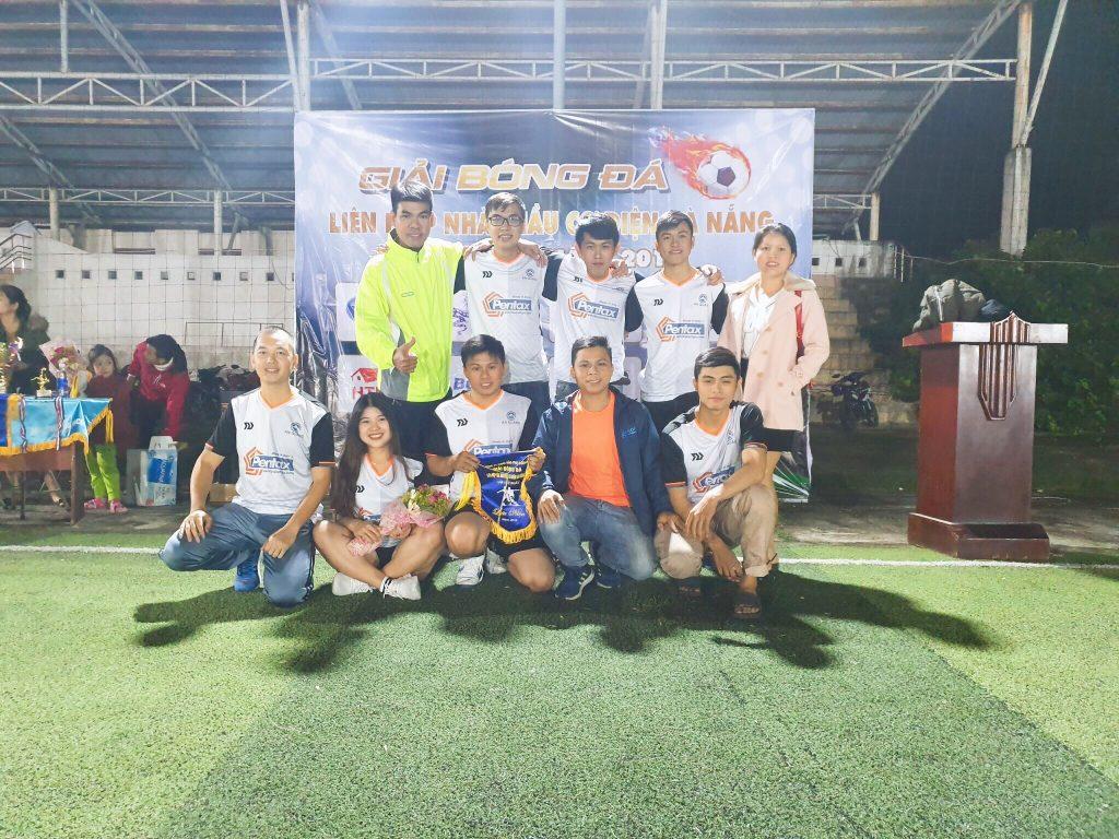 Đội bóng An Quảng - Giải bóng đá liên hiệp các nhà thầu cơ điện Đà Nẵng