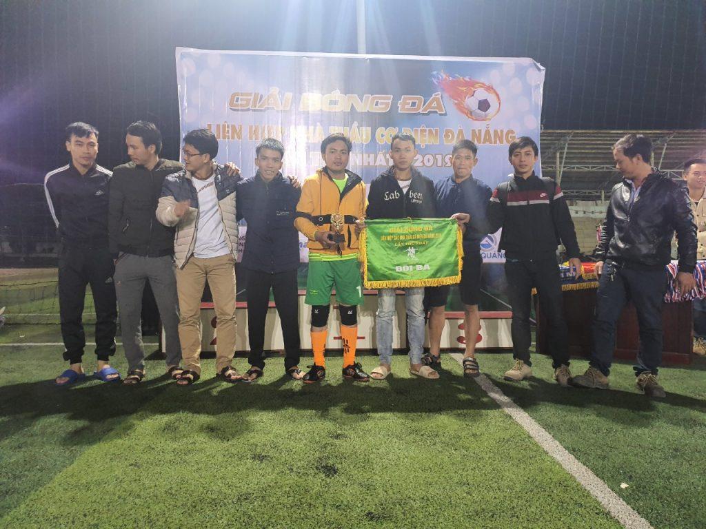 Giải ba - Giải bóng đá liên hiệp các nhà thầu cơ điện Đà Nẵng