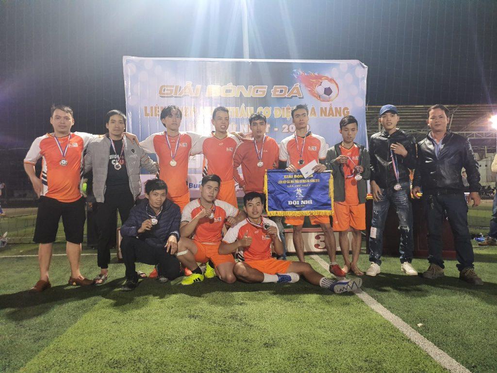 Giải nhì - Giải bóng đá liên hiệp các nhà thầu cơ điện Đà Nẵng