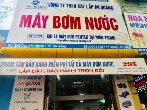 Máy bơm nước tại Đà Nẵng chính hãng