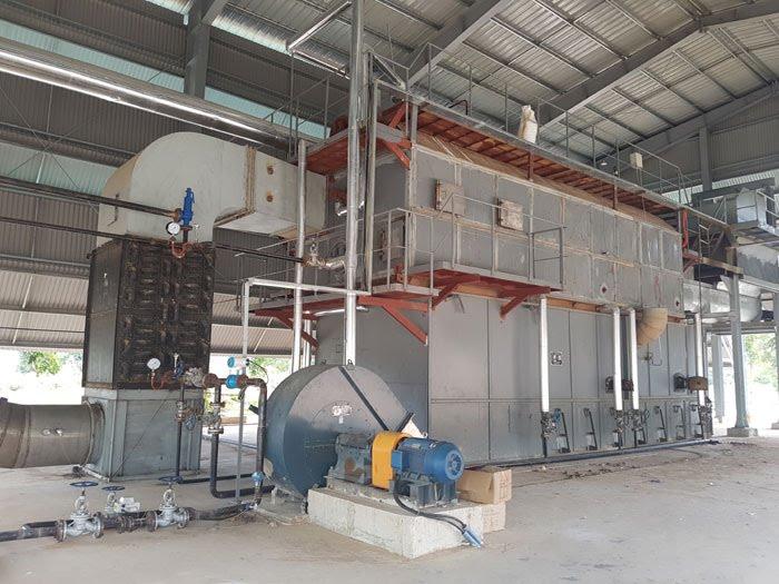 Cung cấp máy bơm tăng áp tại nhà máy sản xuất tinh bột mỳ quảng ngãi