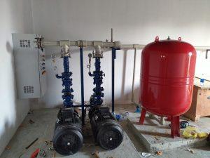 cách lắp đặt bình tích áp cho máy bơm nước