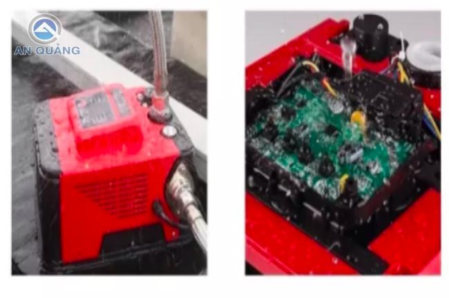 Board mạch điện tử bị lỗi dẫn đến máy bơm tăng áp không tự ngắt